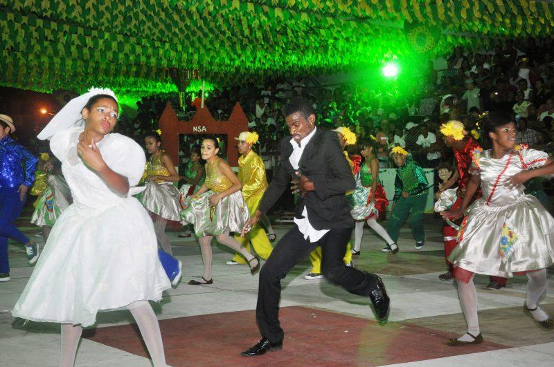 Presentation of the Quadrilha Dance