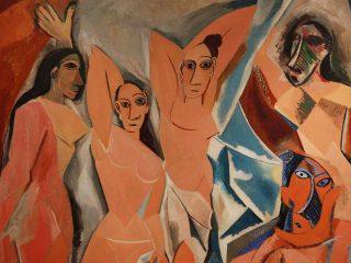 Detail des Demoiselles d'Avignon