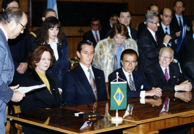 Historical Agreement between Presidents of Brazil and Argentina