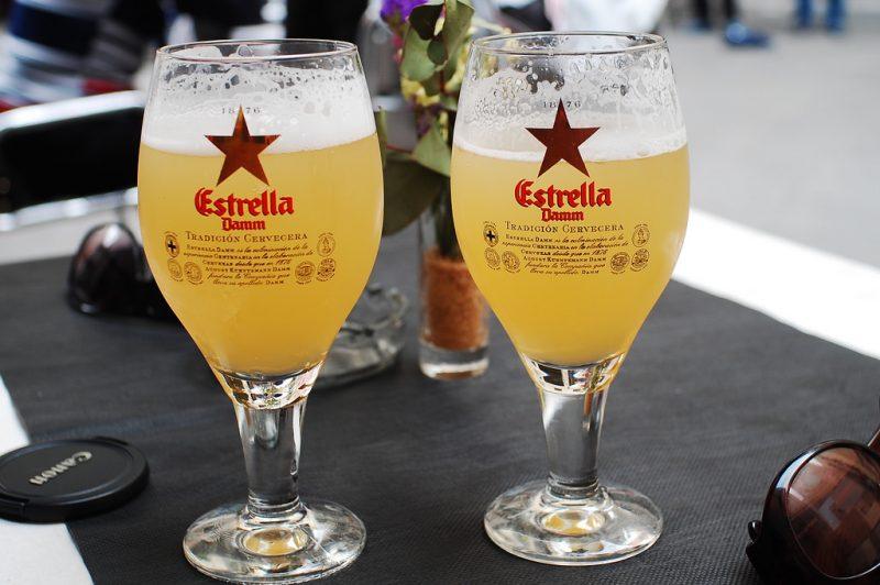 Spanish Beer Estrella Damm