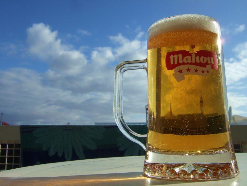 Spanish Beer Mahou Cinco Estrellas