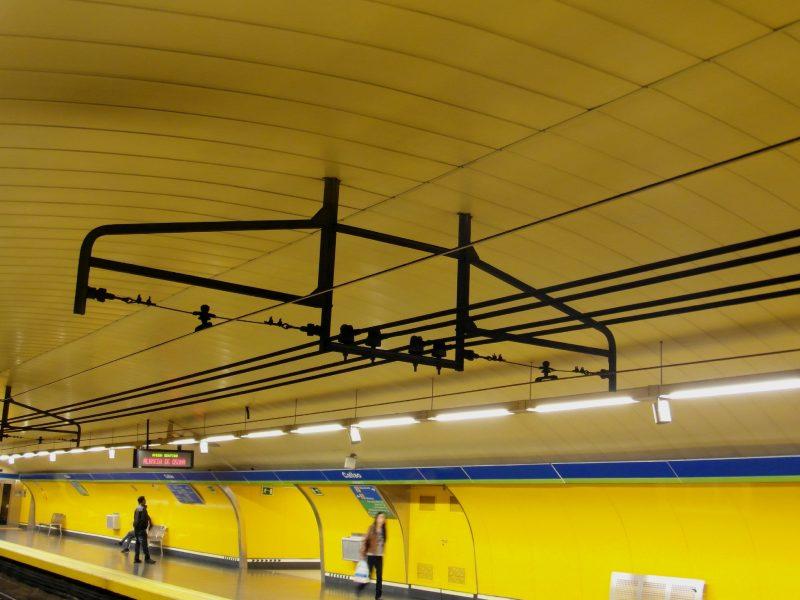 Madrid Metro Overhead Power Supply