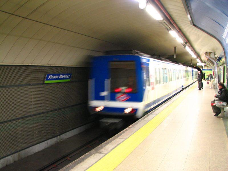 Madrid Metro Undeground
