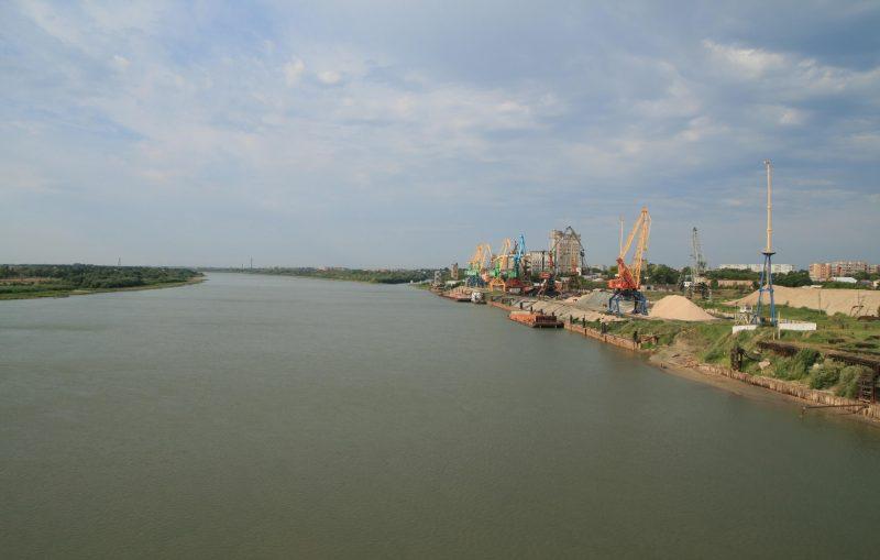 ob irtysh river