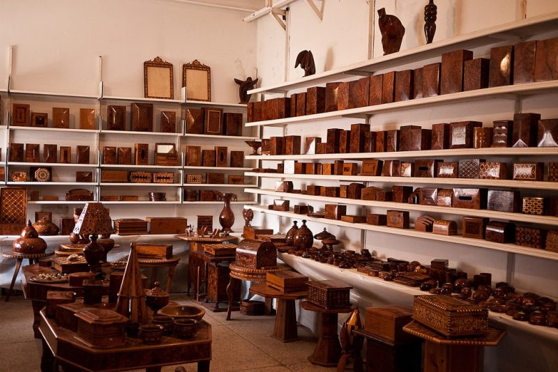 Essaouira Woodshop in Ensemble Artisanal