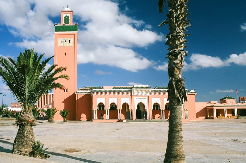 Mosque Moulay Abdel Aziz